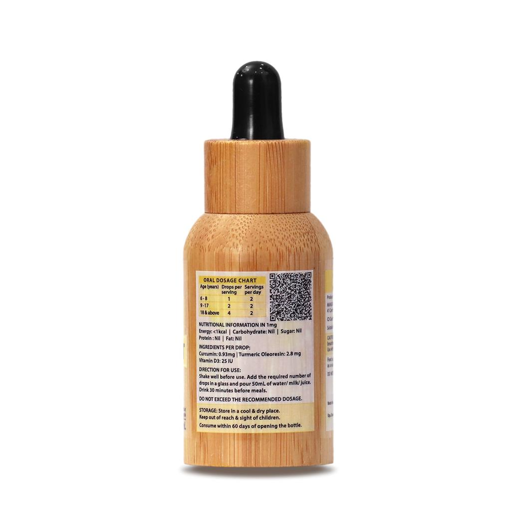 Yellow Root D3 Drops 15ML